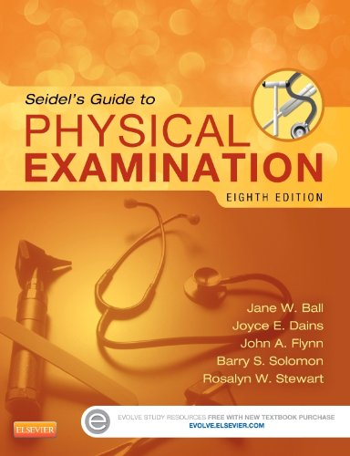Seidel's Guide to Physical Examination  8th 2015 9780323112406 Front Cover
