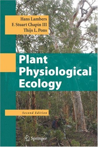 Plant Physiological Ecology  2nd 2008 edition cover