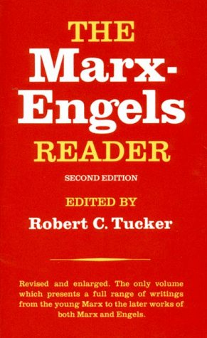Marx-Engels Reader  2nd 1978 9780393090406 Front Cover