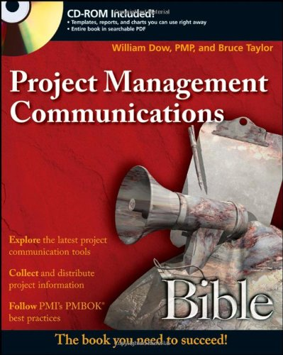Project Management Communications Bible   2008 edition cover
