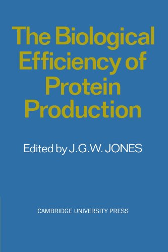Biological Efficiency of Protein Production   2011 9780521279406 Front Cover