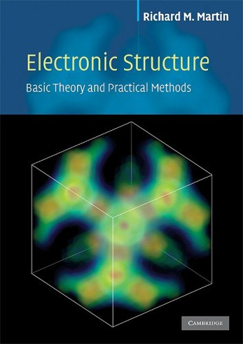 Electronic Structure Basic Theory and Practical Methods N/A 9780521534406 Front Cover