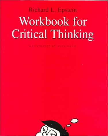 Critical Thinking  1999 (Workbook) 9780534558406 Front Cover