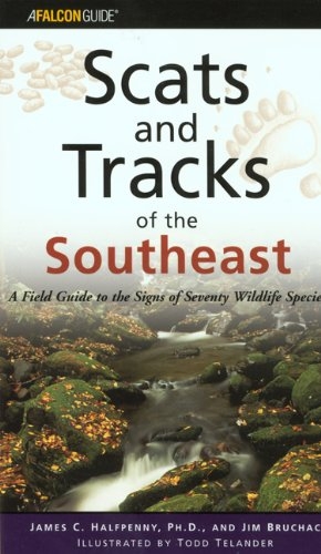 Southeast - Scats and Tracks   2002 edition cover