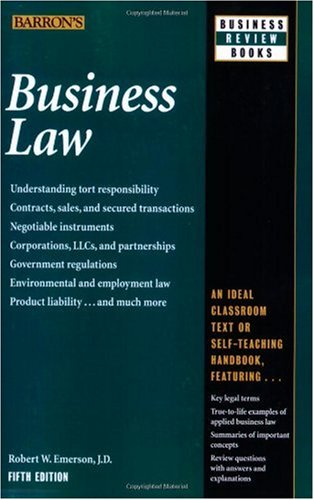 Business Law  5th 2009 (Revised) edition cover