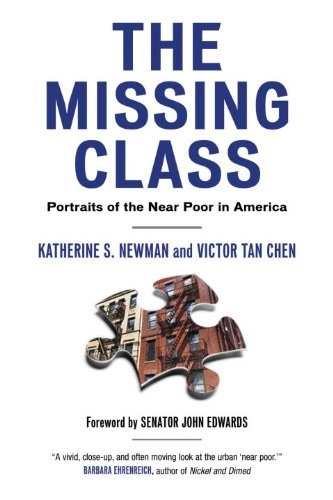 Missing Class Portraits of the near Poor in America  2008 edition cover