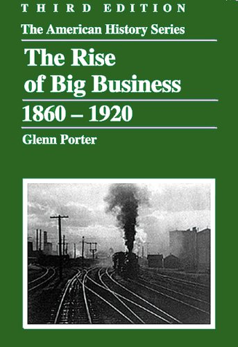 Rise of Big Business, 1860-1920  3rd 2006 edition cover