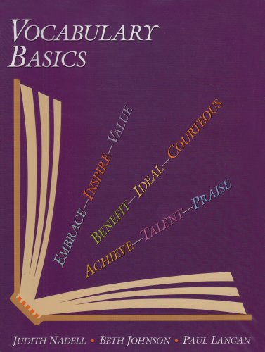 Vocabulary Basics  N/A edition cover