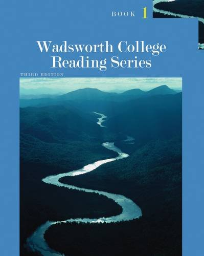 Wadsworth College Reading  3rd 2013 edition cover