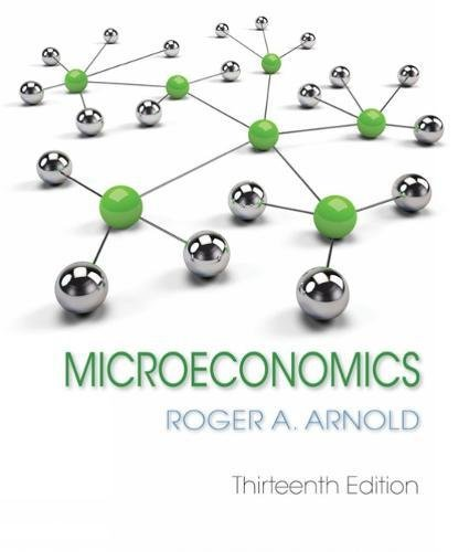Microeconomics:  13th 2018 9781337617406 Front Cover