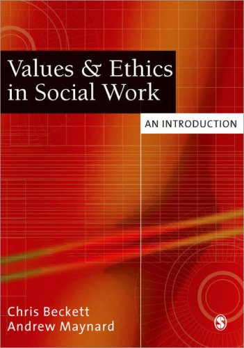 Values and Ethics in Social Work An Introduction  2005 edition cover