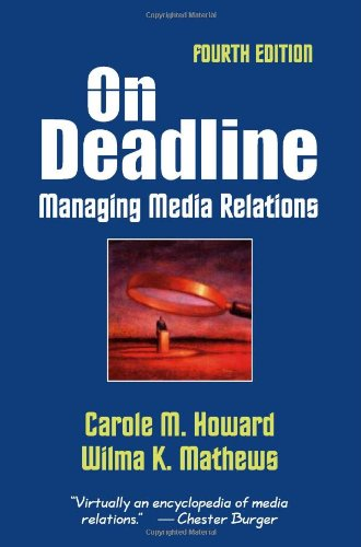 On Deadline Managing Media Relations 4th 2006 edition cover
