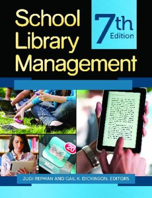 School Library Management  7th 2014 (Revised) edition cover