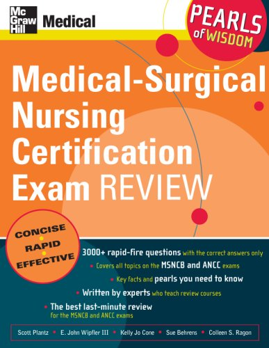 Medical-Surgical Nursing Certification Exam Review   2007 edition cover