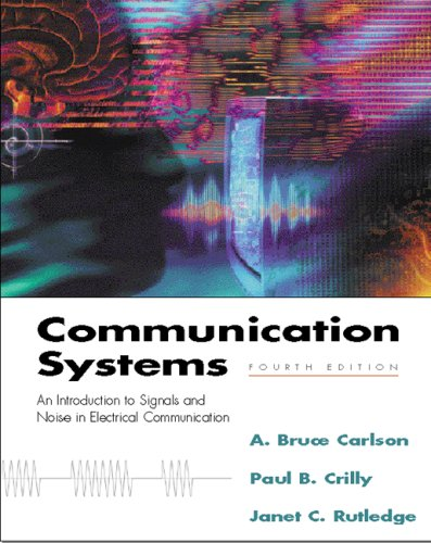 Communication Systems  5th 2010 edition cover