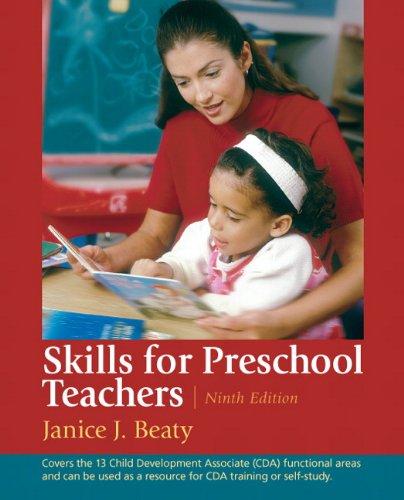 Skills for Preschool Teachers  9th 2012 (Revised) edition cover
