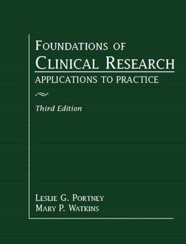 Foundations of Clinical Research Applications to Practice 3rd 2008 edition cover