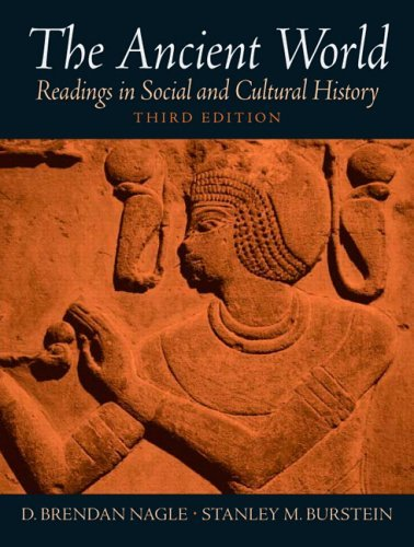 Ancient World Readings in Social and Cultural History 3rd 2006 edition cover
