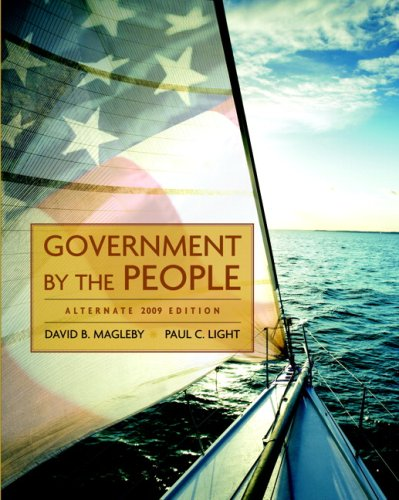 Government by the People, Alternate Edition, 2009 Edition  23rd 2009 (Alternate) edition cover