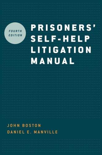 Prisoners' Self-Help Litigation Manual  4th 2009 edition cover