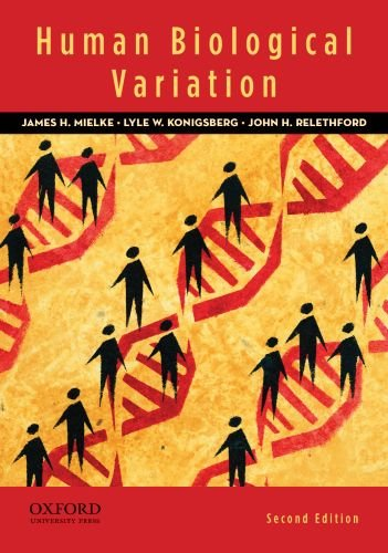 Human Biological Variation  2nd 2011 edition cover