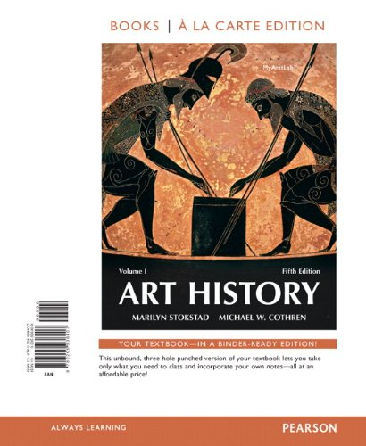 Art History, Books a La Carte Edition:   2013 edition cover
