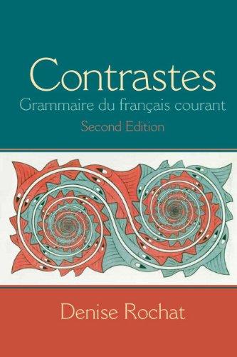 Contrastes Grammaire du Fran�ais Courant 2nd 2014 edition cover