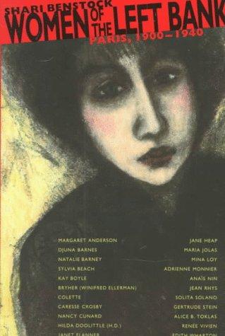 Women of the Left Bank Paris, 1900-1940  1986 edition cover