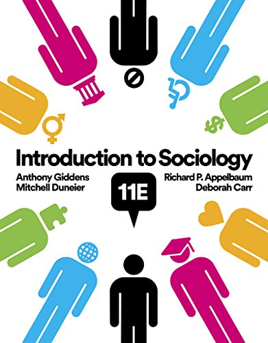 Introduction to Sociology:   2018 9780393639407 Front Cover