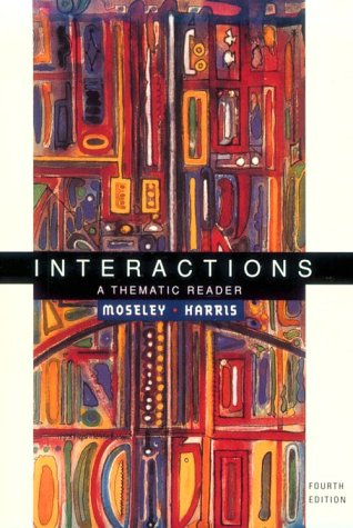 Interactions A Thematic Reader 4th 2000 9780395958407 Front Cover