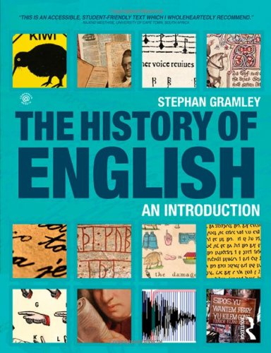 History of English An Introduction  2012 edition cover