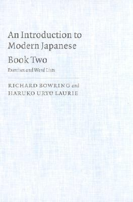 Introduction to Modern Japanese Exercises and Word Lists  1992 9780521438407 Front Cover