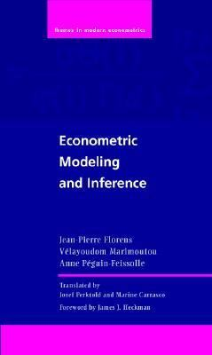 Econometric Modeling and Inference   2007 9780521876407 Front Cover