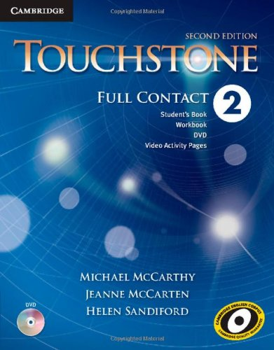 TOUCHSTONE LEVEL 2 FULL CONTACT 2ND EDITION  2nd 2013 (Revised) edition cover