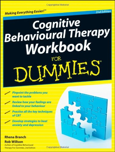 Cognitive Behavioural Therapy Workbook for Dummies�  2nd 2012 edition cover