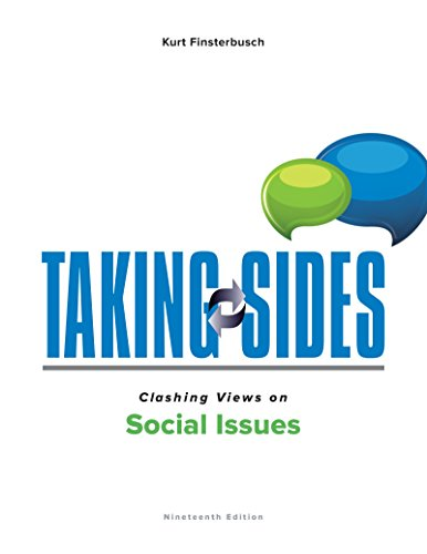 Taking Sides Clashing Views on Social Issues:   2016 9781259666407 Front Cover