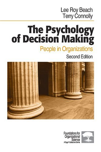 Psychology of Decision Making People in Organizations 2nd 2005 (Revised) edition cover