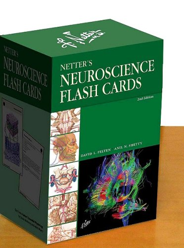 Netter's Neuroscience Flash Cards  2nd 2010 9781437709407 Front Cover