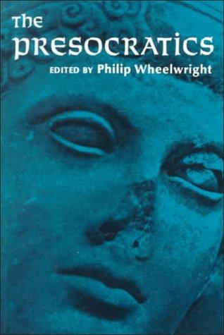 Presocratics  1st 1966 edition cover
