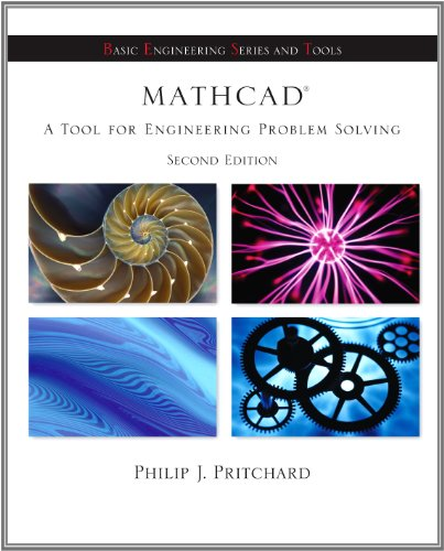 Mathcad - A Tool for Engineering Problem Solving  2nd 2008 9780077509408 Front Cover