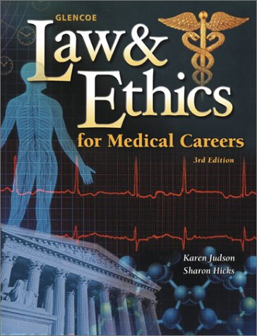 Law and Ethics for Medical Careers 3rd 2003 edition cover