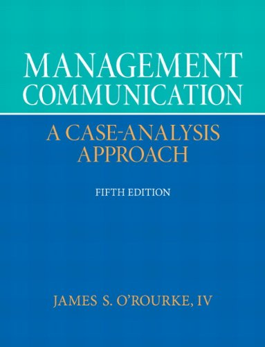Management Communication  5th 2013 (Revised) 9780132671408 Front Cover
