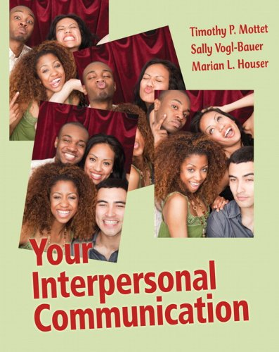 Your Interpersonal Communication   2012 edition cover