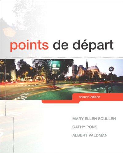 Points de D�part  2nd 2013 (Revised) edition cover