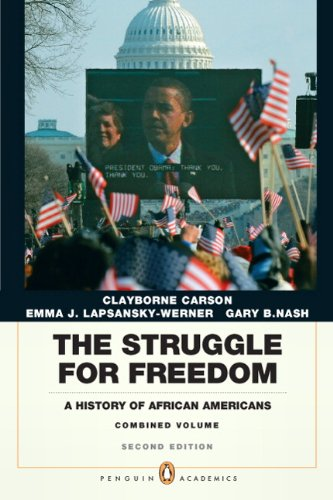 Struggle for Freedom A History of African Americans 2nd 2011 edition cover