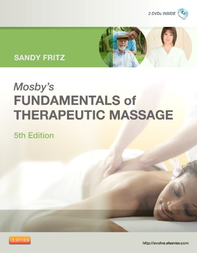 Mosby's Fundamentals of Therapeutic Massage  5th 2012 edition cover