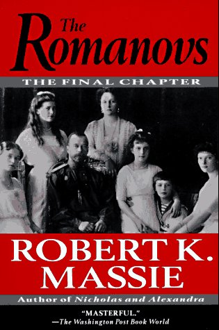Romanovs The Final Chapter N/A edition cover