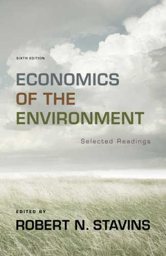 Economics of the Environment  6th 2012 edition cover