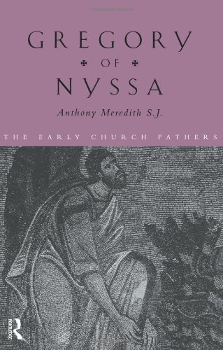 Gregory of Nyssa   1999 edition cover