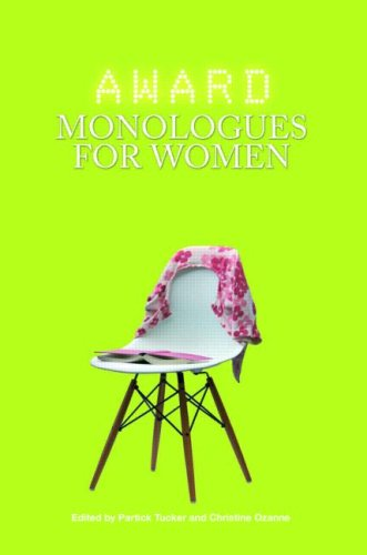 Award Monologue Book for Women   2008 9780415428408 Front Cover